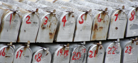 clustered mailboxes
