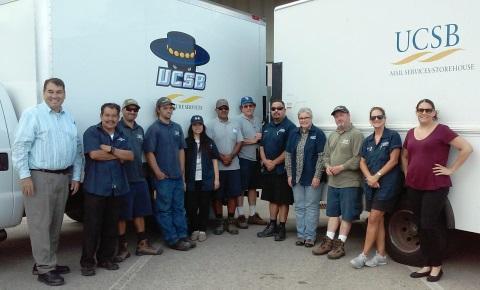UCSB DLS staff